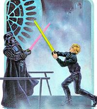 Vader Luke DSII duel popup