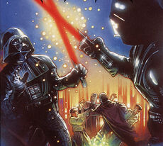 Vader fights his clone