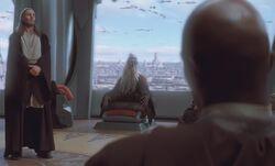 Оппо Ранцизис на заседании Совета