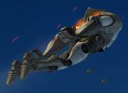 Rocket droid flight
