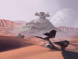 Starship Graveyard Jakku SWDA