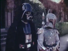 Vader Fett before parade