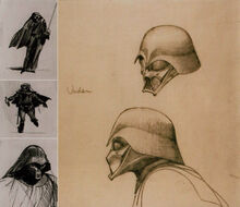 Darth Vader early scetches