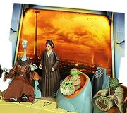 Jedi Council set Poof Depa Yaddle Yoda