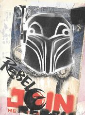 Vandalized Imperial Propaganda Poster