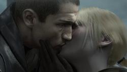 Galen clone and Juno embrace