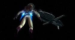 Kenobi space walk