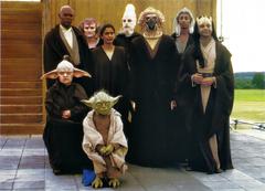 Jedi Council actors MakingTPM