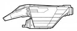 V-wing airspeeder AEG