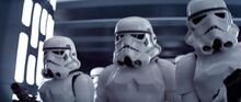 Stormtrooper pursuit ANH