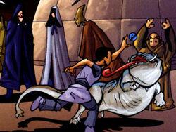 Blarth on Coruscant