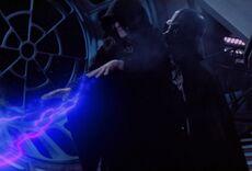 Anakin kills Sidious