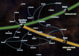 Corellian sector map (SoF)