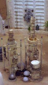 Yard vaporators ANH