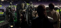 Grievous and captured Jedi