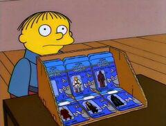Simpsones Star Wars diorama