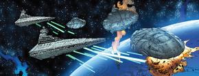 Флот Таркина против кораблей Мон-Калы