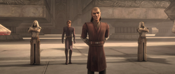 Jedi guards and Drallig