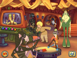 Anakin's Speedway characters