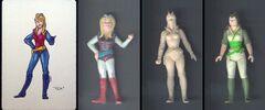 Kea Moll concepts figures