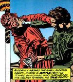Vedain Lando fight comic