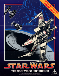 Star Wars arcade flyer Atari