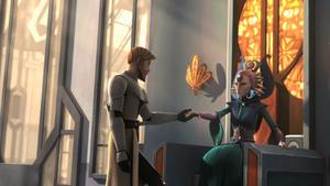 Сатин и Оби-Ван на Мандалоре