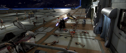 Boarding battle