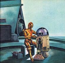 C-3PO R2-D2 T-16 QandAspace