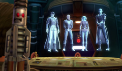 Star Cabal talking with Hunter SWTOR