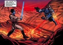 Shattered Rock duel