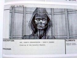Emperor hologram storyboard