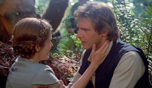 Han and Leia on Endor