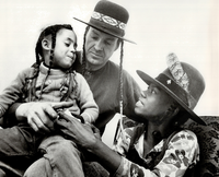 Cree Summer with parents