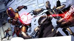 Tes Vevec fighting droids SWLEG41