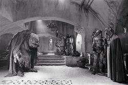 Assorted monsters behind the scenes in Jabbas palace