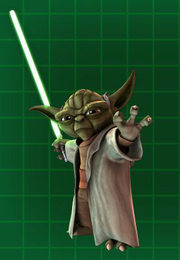 Yoda Battle Slash Yoda1
