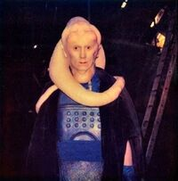 Costume reference polaroid for Michael Carter as Bib Fortuna- January 1982