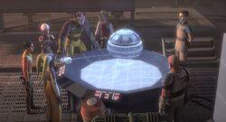 Reclem station hologram