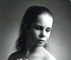Young Celia Imrie