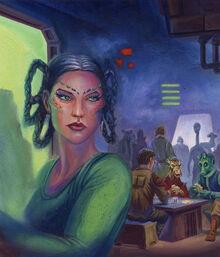 Myri Antilles at Galactic Princess