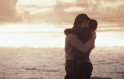 Jyn and Cassian final moments