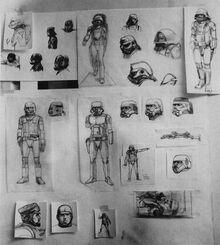 Stormtrooper sketches RMQ