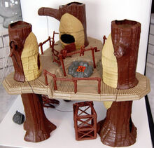 Ewok Village Action Playset