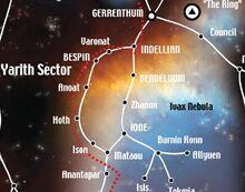 Ison Corridor Map