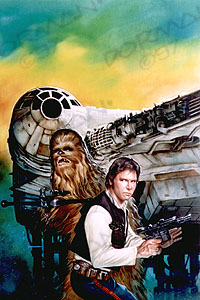 Han Solo and the Lost Legacy art 1997