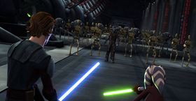 Bane droid army