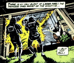 Leia shot Final Duel