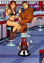 Dexter Diner visitor bikiini