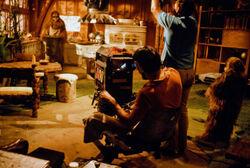 Mickey Morton Patty Maloney filming